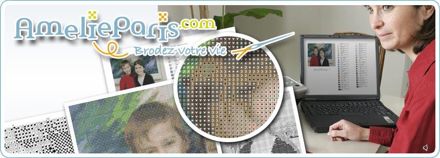 Accueil Amelieparis Transformez Vos Photos En Grilles De Point De Croix